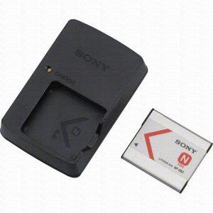 Sony Bateria e Carregador p/ Câmeras Cyber-Shot