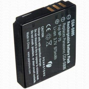 Pearstone Fuji NP-70 – Pack de Bateria de Íons de Lítio
