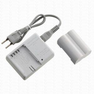 Olympus BLM-5 e BCM-5 Kit de Carregador e bateria