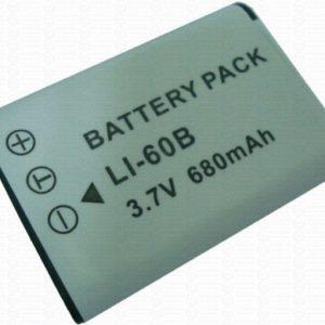 Olympus LI-60B – Bateria de Íons de Lítio (3,7V, 640mAh)